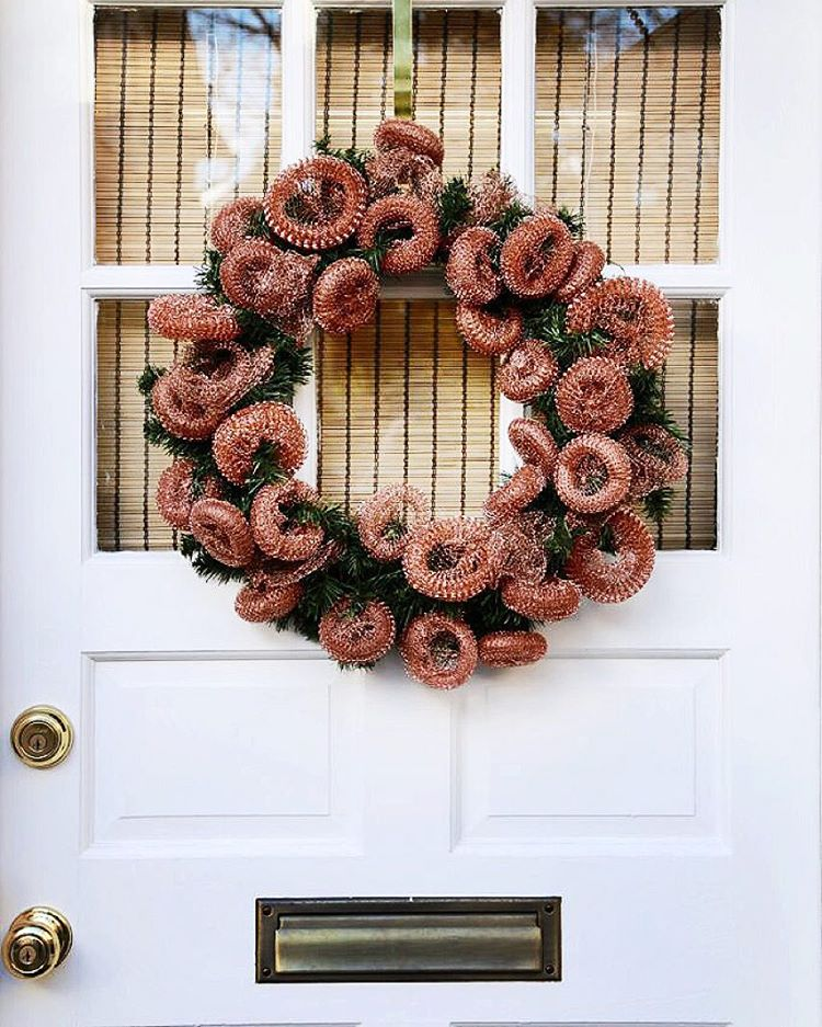 Ten minutes  faux wreath  boatload of copper pothellip