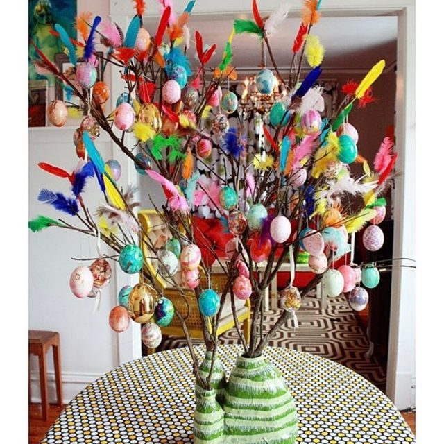 flashback to my paskris Easter tree a few years backhellip