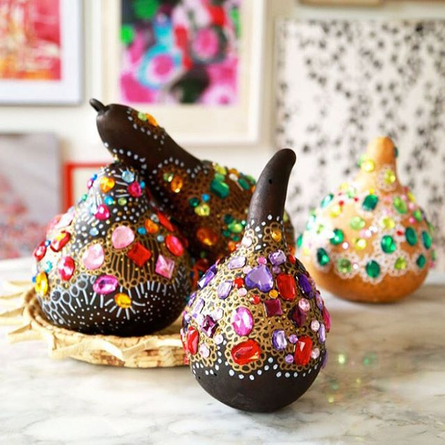 OH MY GOURD Rhinestone gourds the gift that keeps onhellip