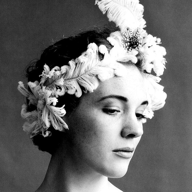 Julie Andrews in a weird hat photographed by Cecil Beaton.…