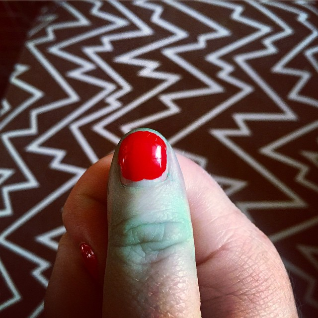 It's been a frustrating day and now my thumb is…