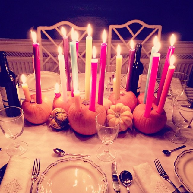 This pumpkin taper candle situation by jessicabuckleyinteriors is GENIUS Thinkhellip