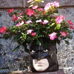 Leftover Halloween: Batman Candy Bucket Planter