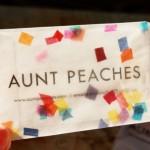 Confetti Snow Globe Business Cards
