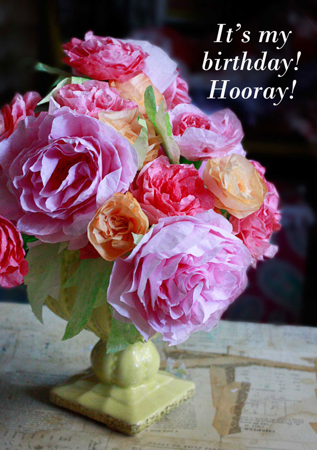 Goody Bag: Custom Coffee Filter Flowers - Aunt Peaches