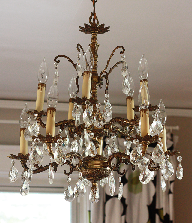 Things To Remember While Buying A Chandelier: My New-Slash-Old Chandelier: Mrs. Snow