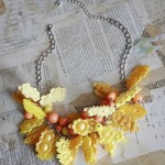 Friday Flowers: Hair Barrette Necklaces