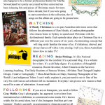 Things and Doings December 2013