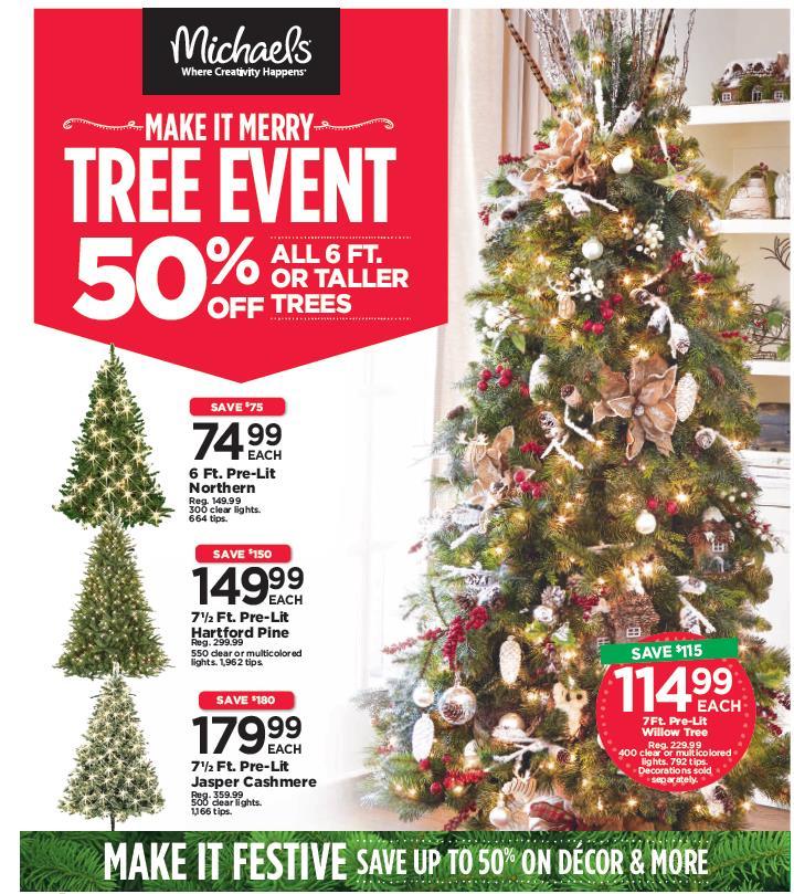 tree event creative michaels