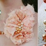 A Peachy Necklace from Aunt Dooney's Prom Dress