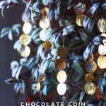 Chocolate Coin Garland