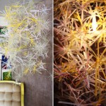 Exploding Drinking Straw Lamp