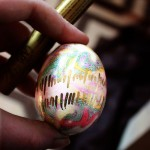 Golden Seismograph Easter Eggs