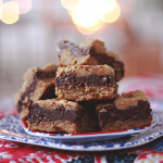 Hold Me Down Debbie! Chocolate Peanut Butter Bars