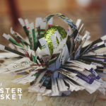 Reader Request: Free and Angsty Newspaper Easter Basket