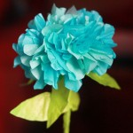 Friday Flowers: Paper Hydrangeas