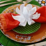 Friday Flowers: Paper Plate Magnolias