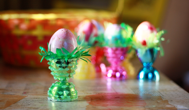 Fancy Egg Cups For Twelve Cents Aunt Peaches