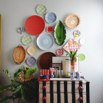 Dinnerware Gone Rogue: How to Hang a Plate Wall