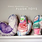 Children's Art Turned Into Plush Toys