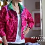 For Cool Kids: Watermelon Jean Jacket