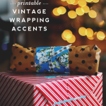 Printable Vintage Wrapping Accents