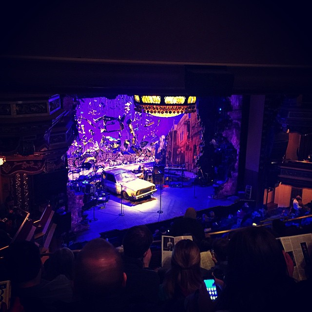 About to rock it with @michael.dexter.hall in Hedwig and the Angry Inch. #DexterDoesBroadway