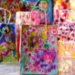 Painted Gift Bags