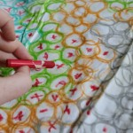Do-It-Yourself Home Textiles with Fabric Crayons