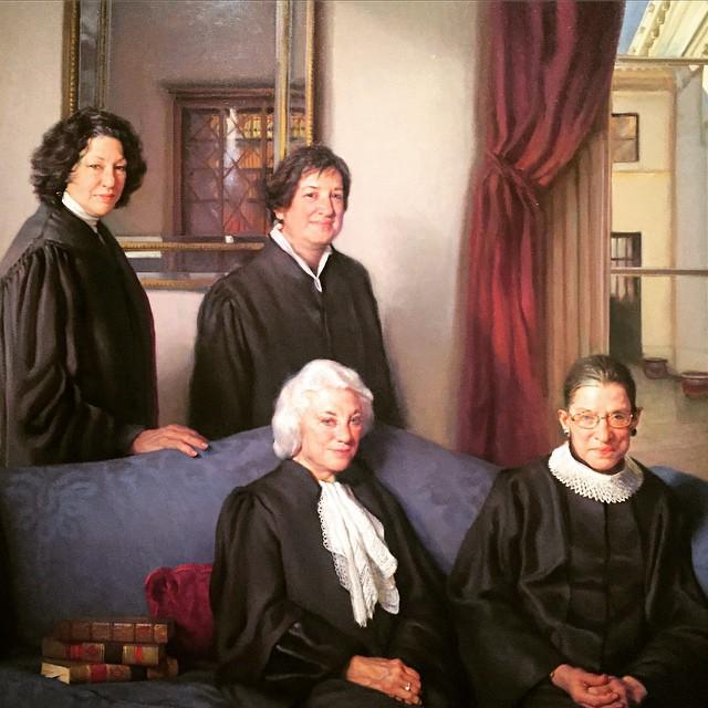 Ladies night. #SCOTUS