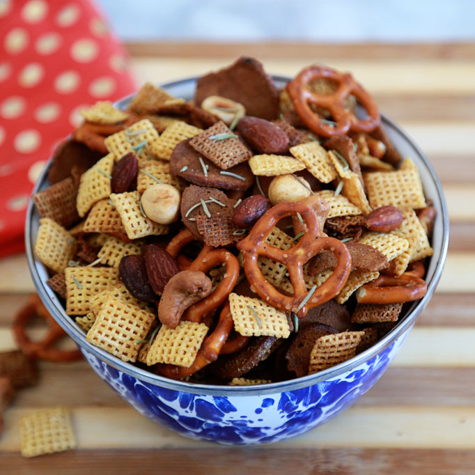 Twice-toasted-rosemary-chex-mix