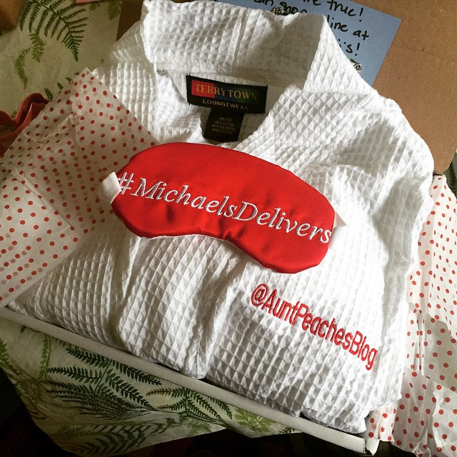 Welp. @michaelsstores knows me a little too well. The surest way to my heart is through a bathrobe.