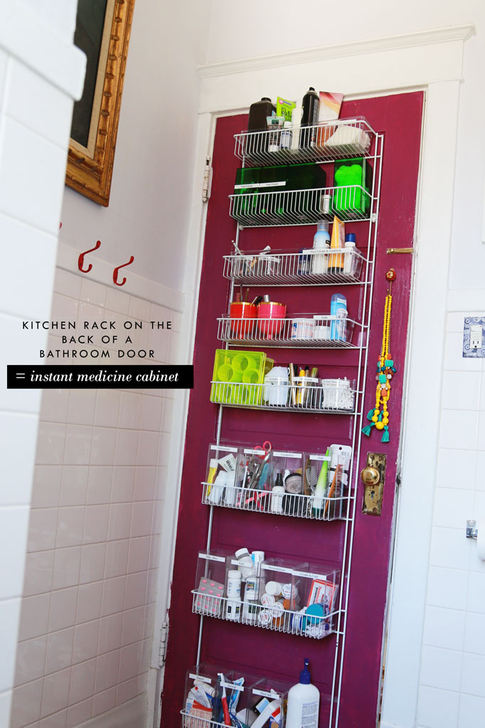 kitchen-rack-on-bathroom-door