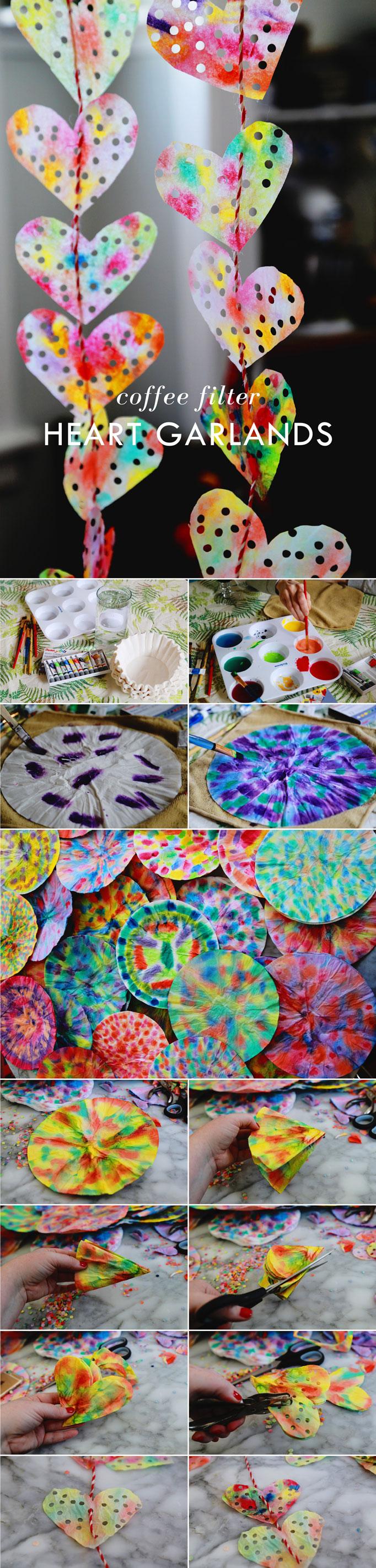 valentine-craft-garland-heart-coffee-filter-painting-682