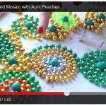 Video: Mardi Gras Bead Mosaic