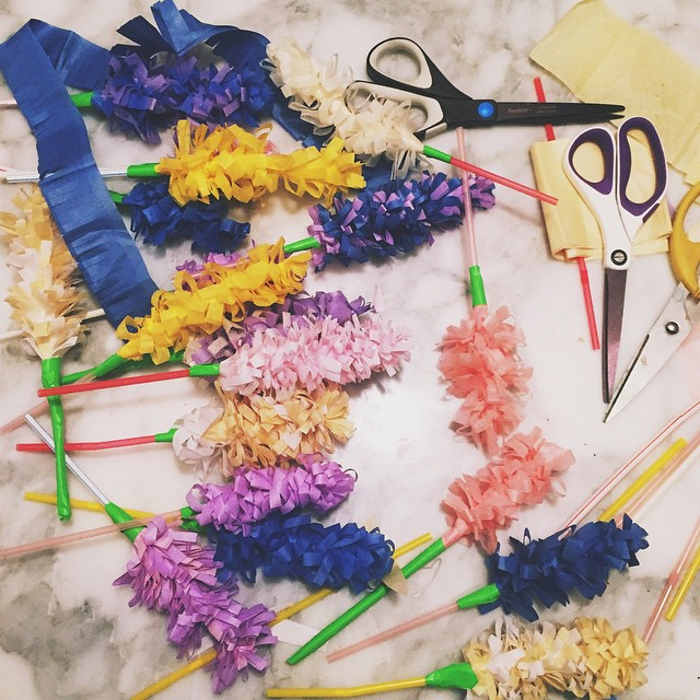 *+-It was hyacinth season for today's ladies crafternoon. I can't…