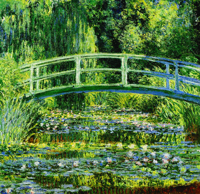 Monet-water-lilies-Japanese-bridge