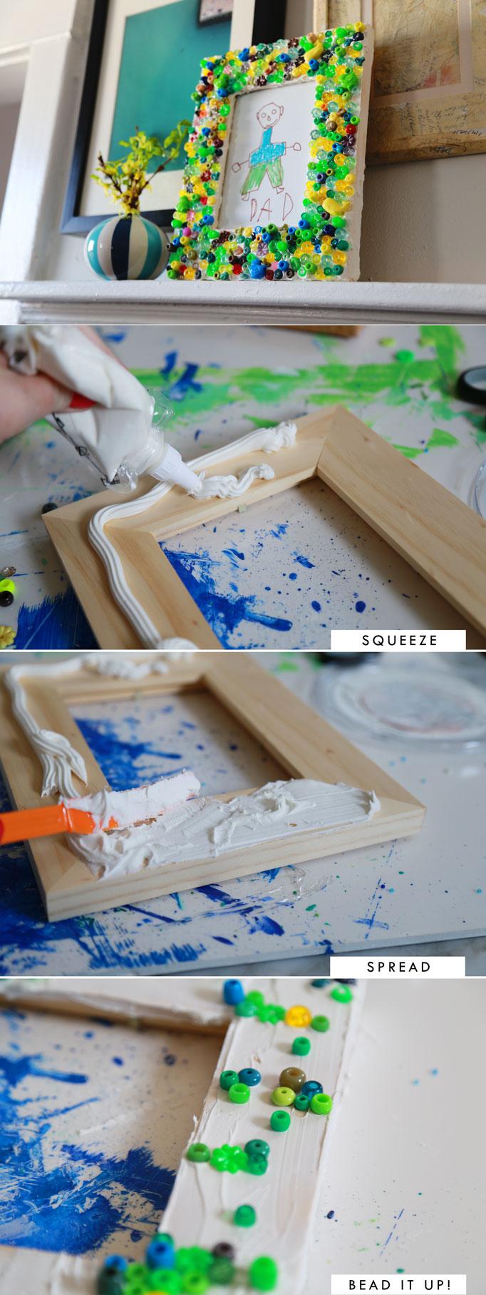 beaded-frame