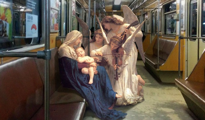 angels-on-subway-happy-monday