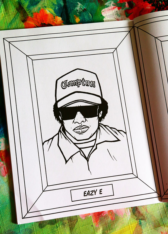 eazy e coloring pages - gambar goodlifecoloring good life coloring books instagram