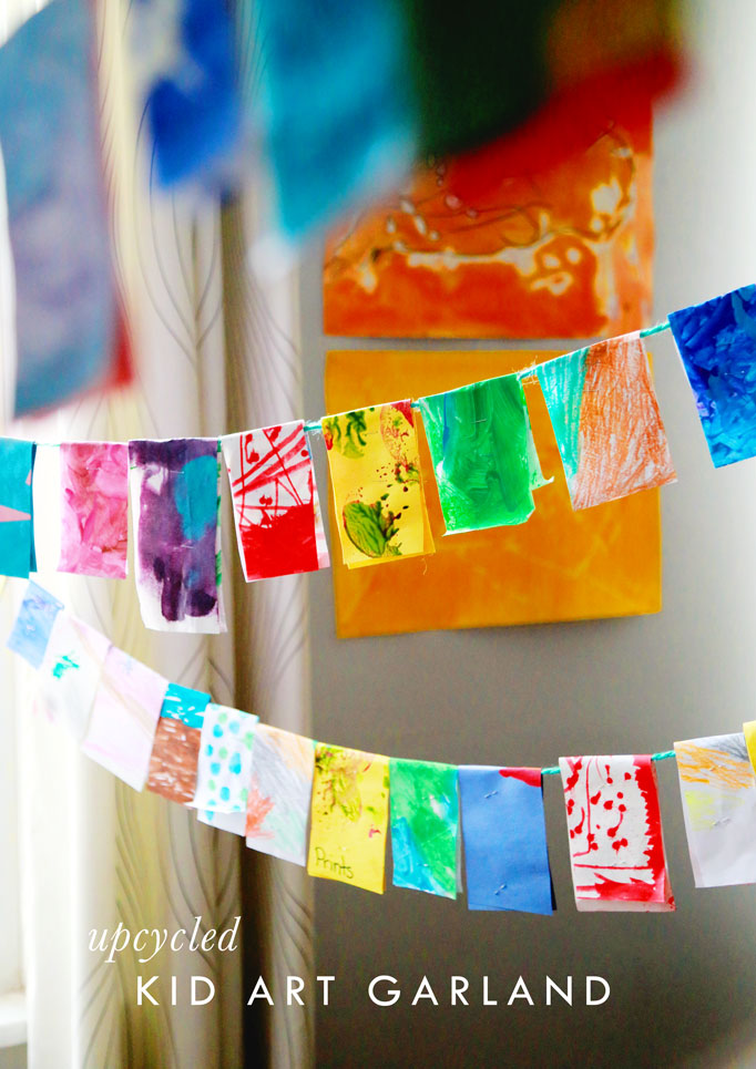 upcycled-kid-art-garland-DIY-craft