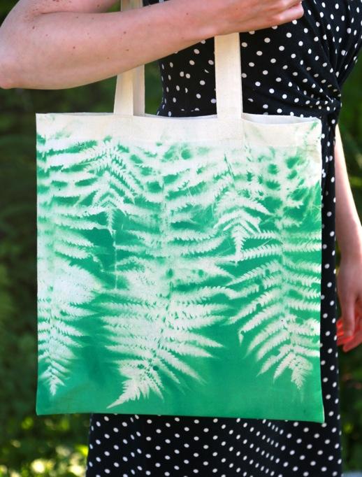 Fern Colorshot Tote bags Craft1 682