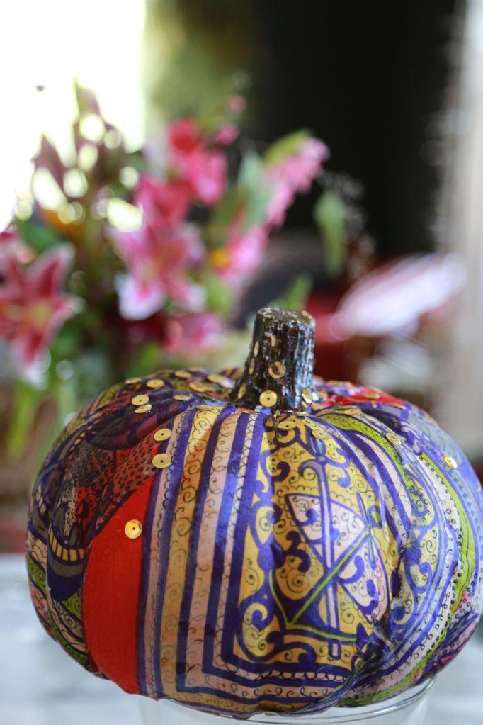scarf pumpkin