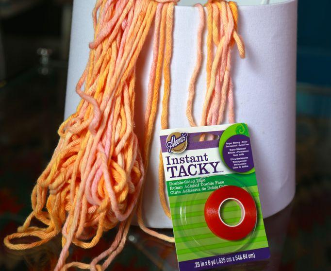 yarn dye lampshade