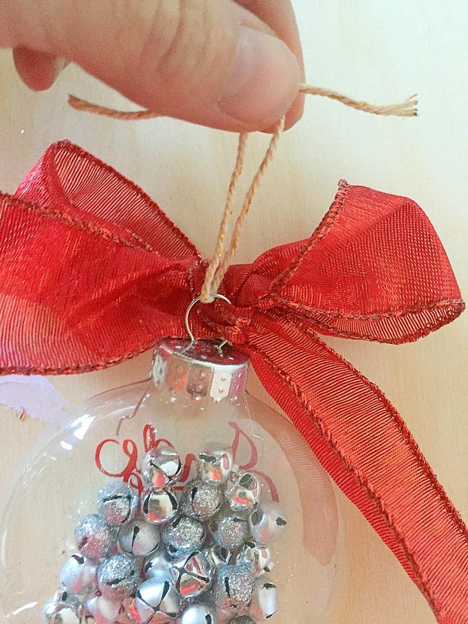 Jingle Bell Ornament Loop