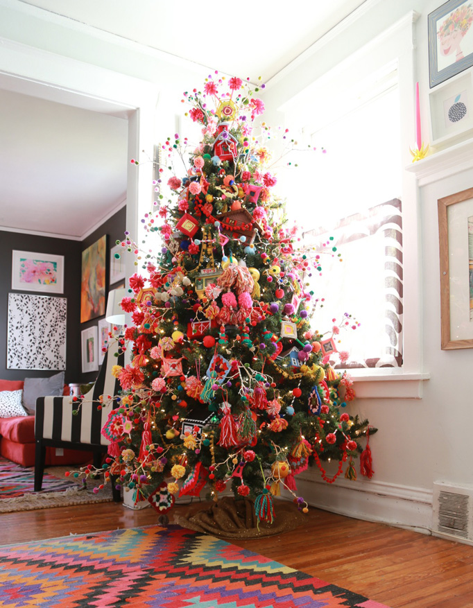 Yarntastic-granny-boho-tree