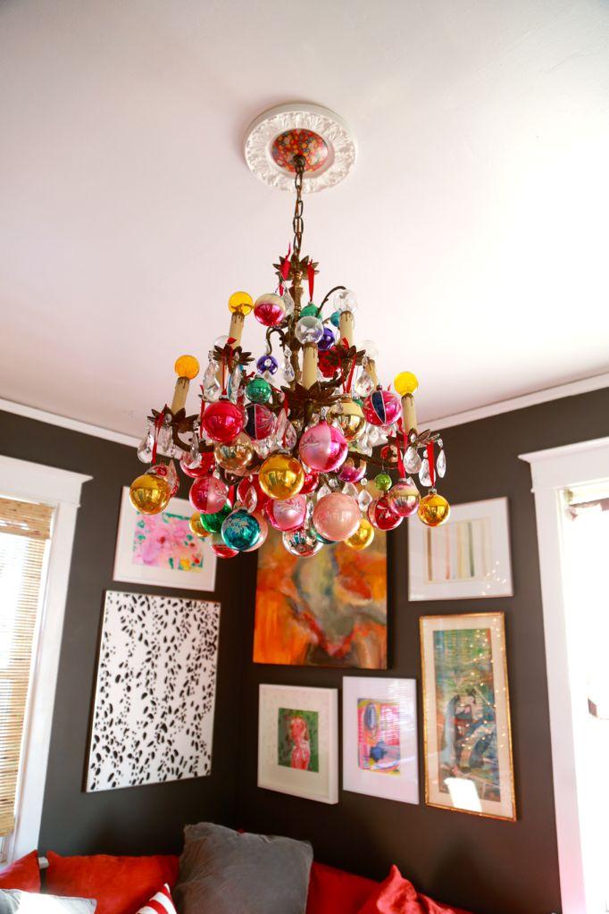 chandelier corner