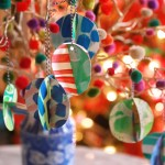 scrap art ornaments