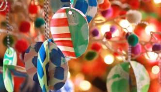 scrap art ornaments