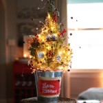 mini tree centerpiece